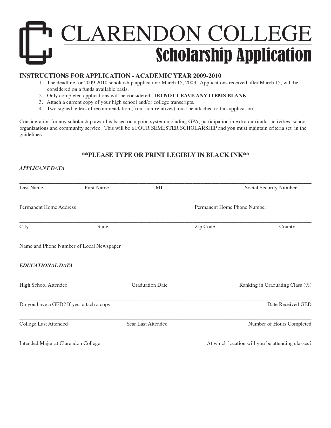 How to write a financial aid letter for a scholarship