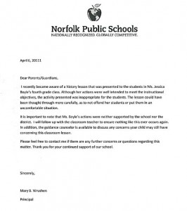 LETTER OF COMPLAINT TO SCHOOL PRINCIPAL ~ Sample & Templates