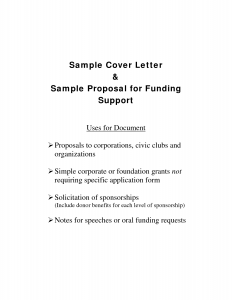 Letter samples templates page 4 for Letter of support template grant