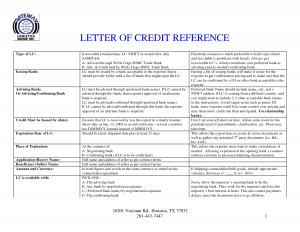 Letter of credit reference sample templates spiritdancerdesigns Images