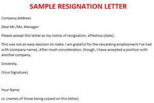 Letter Of Resignation Nursing from www.sampleletter1.com