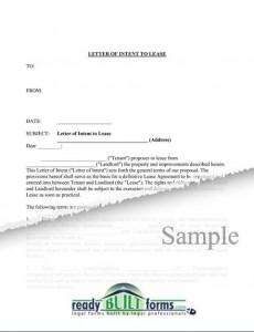 Draft Letter Of Intent from www.sampleletter1.com