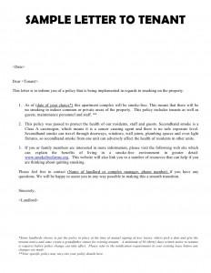 Sample Landlord Letter To Tenant For Damages from www.sampleletter1.com